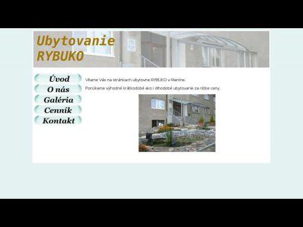 www.ubytovnarybuko.sk