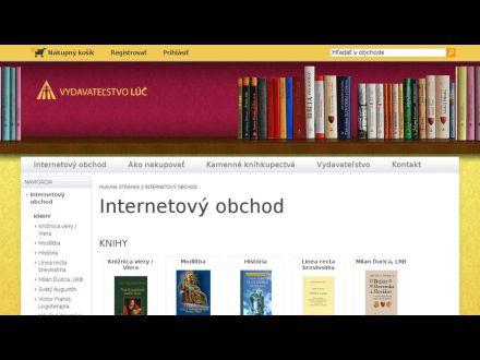 www.luc.sk/e-shop