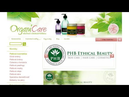 www.biokozmetikaorganicare.sk