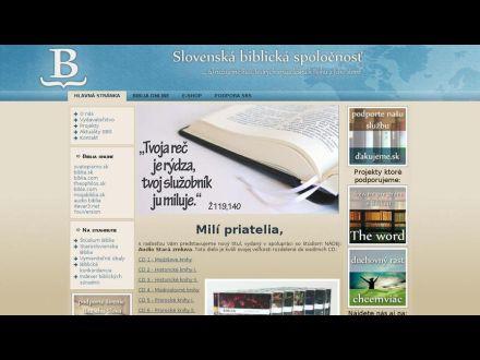 www.biblickaspolocnost.sk