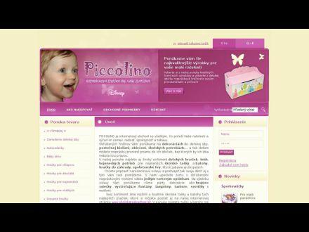 www.piccolino.sk