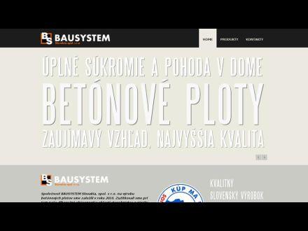 www.bausystem-ploty.sk