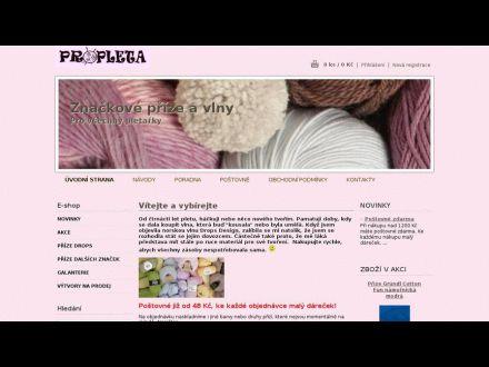 www.propleta.cz