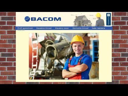www.bacom.sk