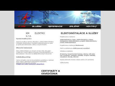 www.km-elektro.sk
