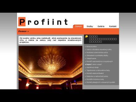 www.profiint.sk