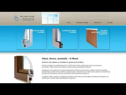 www.d-mont.sk