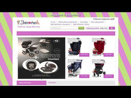 www.babywebshop.sk