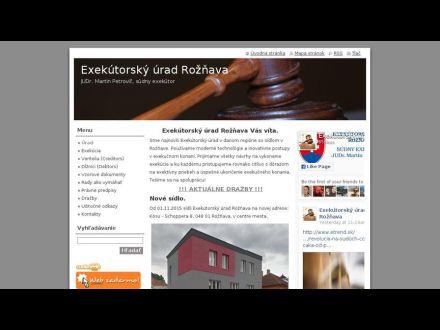 www.exekutorpetrovic.sk