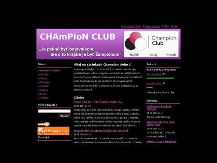 www.championclub.webnode.sk