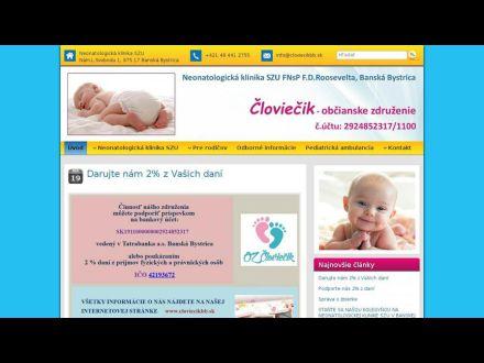 www.cloviecikbb.sk