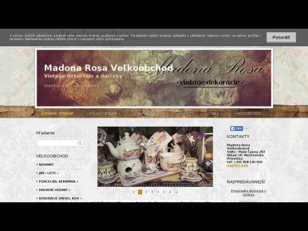 www.madonarosa-velkoobchod.sk