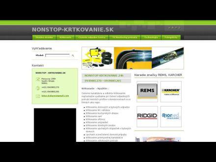www.nonstop-krtkovanie.sk
