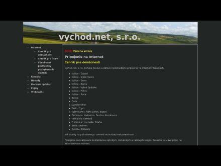 www.vychod.net