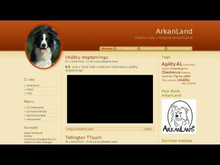 www.arkanland.eu