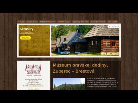 www.muzeum.zuberec.sk