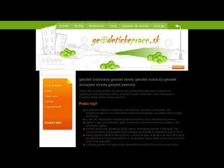 www.geodetickeprace.sk