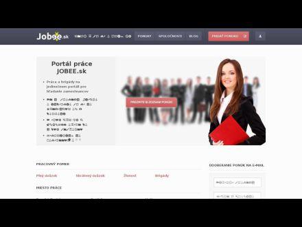 www.jobee.sk