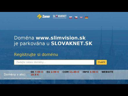 www.slimvision.sk