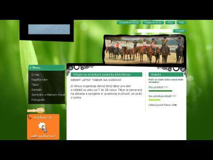 www.jazdeckyklubalmus.webnode.sk