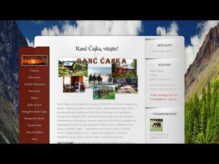 www.ranc-cajka.sk