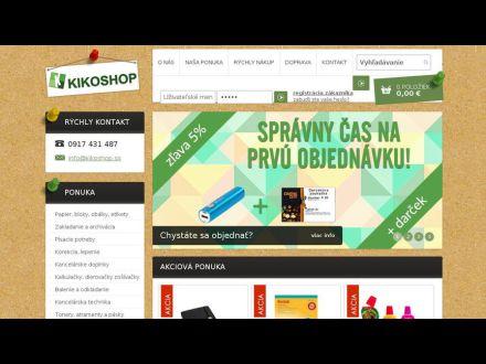www.kikoshop.sk