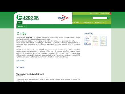 www.eltodosk.sk