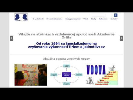 www.akademieorlita.sk