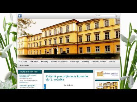 www.gymkremnica.sk