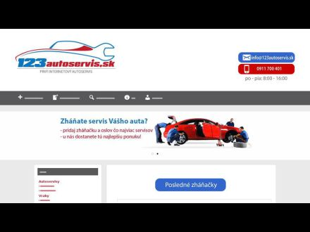www.123autoservis.sk