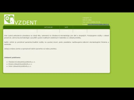 www.vzdent.sk