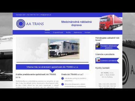 www.aatrans.sk
