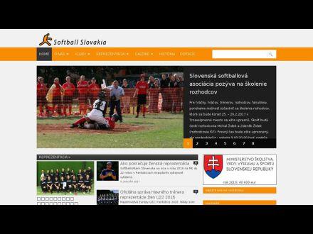 www.softballslovakia.com