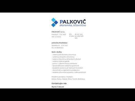 www.palkovic-sro.sk