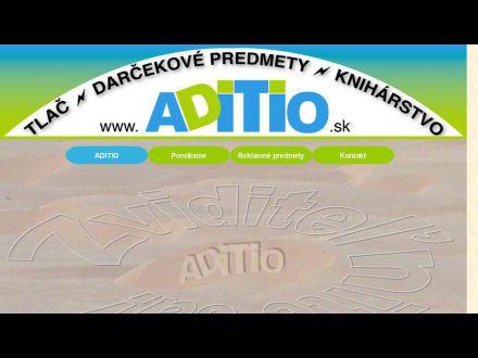www.aditio.sk
