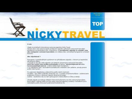 www.nickytravel.sk