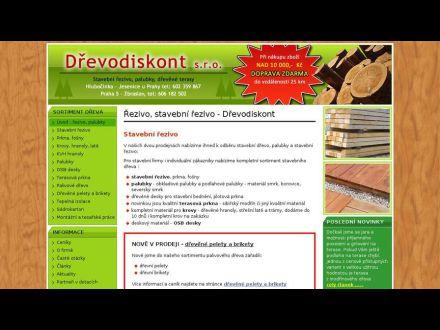 www.drevodiskont.cz