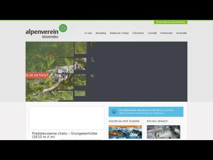 www.alpenverein-slovensko.sk