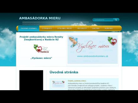 www.ambasadorkamieru.sk
