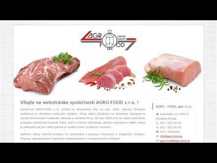 www.agro-food.sk