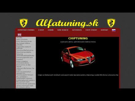 www.alfatuning.sk