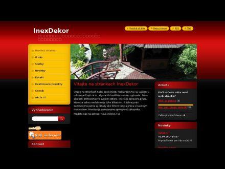 www.inexdekor.webnode.sk