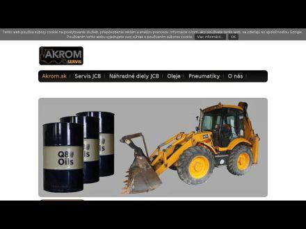 www.akrom.sk