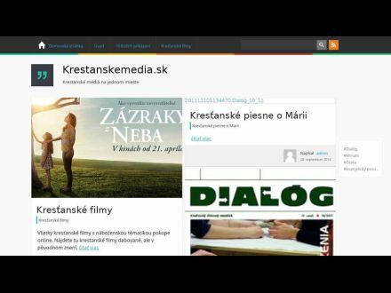 www.krestanskemedia.sk