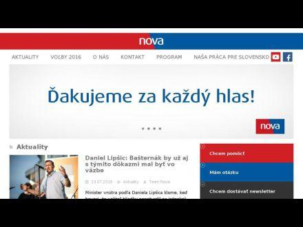 www.nova.sk