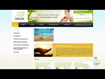 www.arun.sk