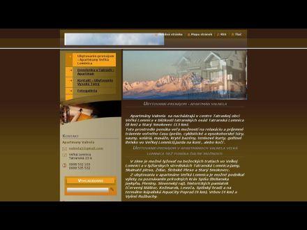 www.apartmany-valnela.sk