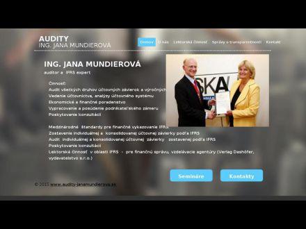 www.audity-janamundierova.sk
