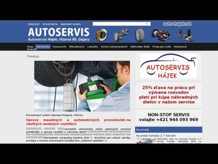 www.auto-hajek.sk