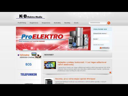 www.proelektro.sk